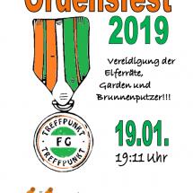 Ordensfest 2019